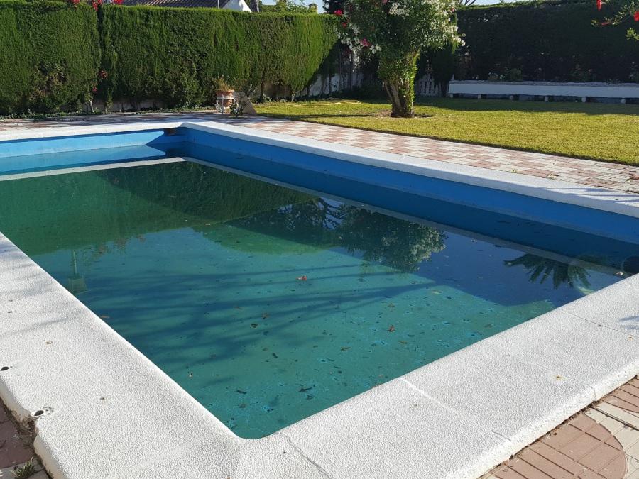 Reformas de piscinas Sevilla liner armado