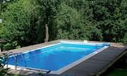 Sustitución de liner piscina acero Elbe