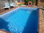 piscinas vega cambio de liner